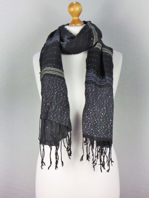 Vegas Party Time Viscose Fashion Scarf