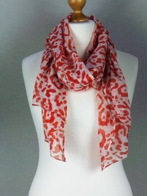 Jelly Pink Cotton Scarf
