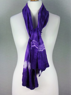 Mayfair Blue Viscose Scarf