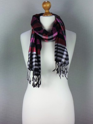 Checkers Viscose Scarf